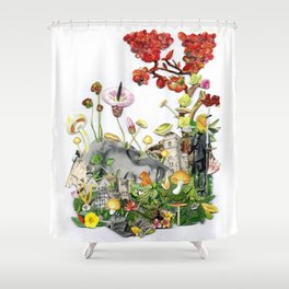 Fallen Idols Shower Curtain