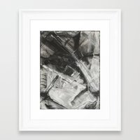 divergent Framed Art Prints featuring Divergent by Ultie Arts