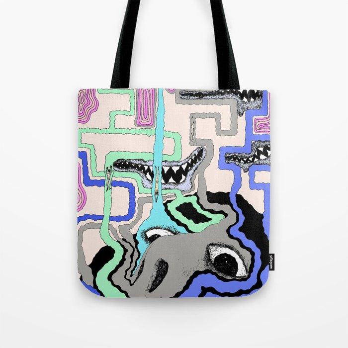 Strange Vision Tote Bag