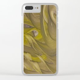 Three of Wands Clear iPhone Case