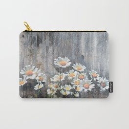 Daisies in Distress Carry-All Pouch