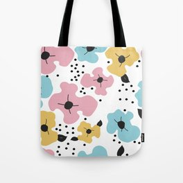 Abstract fowers Tote Bag
