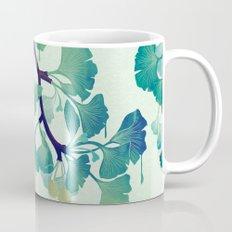 O Ginkgo (in Green) Mug