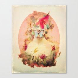 Lady Silence Canvas Print
