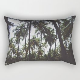 FOREST - PALM - TREES - NATURE - LANDSCAPE - PHOTOGRAPHY Rectangular Pillow