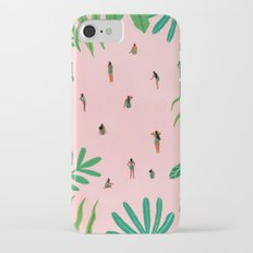 Green swimsuit iPhone 7 Slim Case