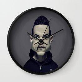 Rami Malek Wall Clock
