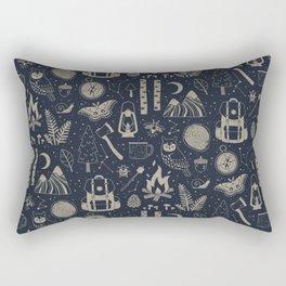 Into the Woods: Stargazing Rectangular Pillow