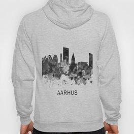 Aarhus Denmark Skyline BW Hoody