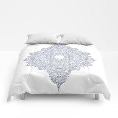 Navy Mandala Comforters
