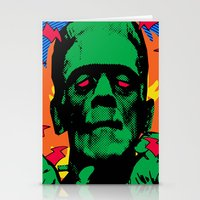frankenstein Stationery Cards featuring Frankenstein by Sellergren Design - Art is the Enemy