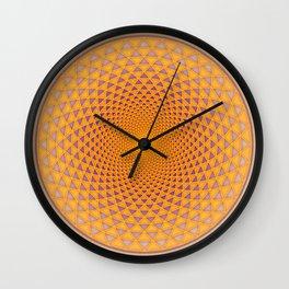 Lotus / Namaste Wall Clock