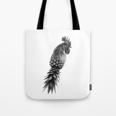 Pineapple Chicken Tote Bag