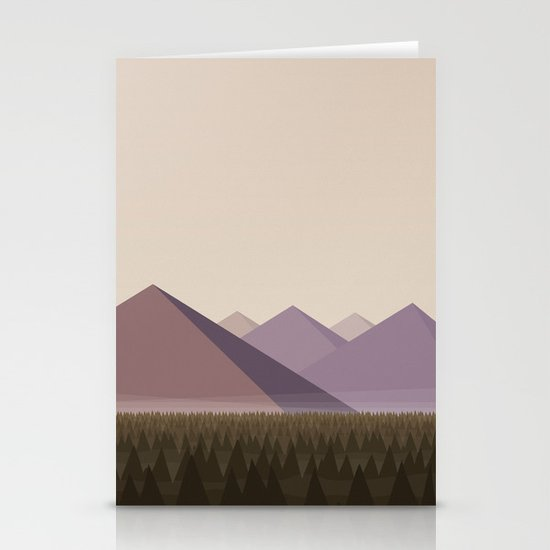 Twin Peaks - James' Valley View Stationery Cards