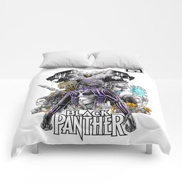 Black Panther Fan Piece Comforters