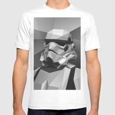 Stormtrooper White MEDIUM Mens Fitted Tee