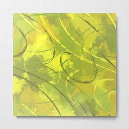 Citric abstract Metal Print