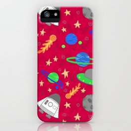 Space Ships iPhone Case
