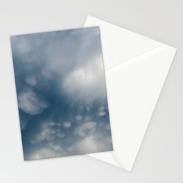 Mammatus Clouds Stationery Cards