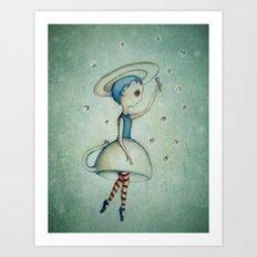 Sugarcube ballet Art Print