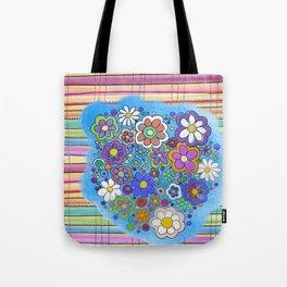 sarape y flore Tote Bag