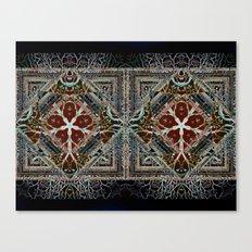 Imaginative oriental pattern Canvas Print