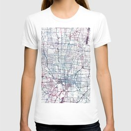 Columbus map T-shirt