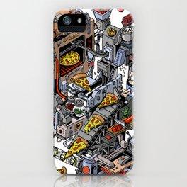 Pizza Machine iPhone Case