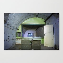 Fallout shelter Canvas Print
