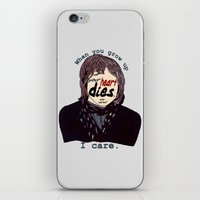 the breakfast club iPhone & iPod Skins featuring The Breakfast Club - Ally by Swell Dame