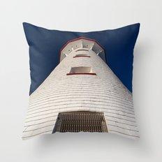 Point Prim Lighthouse Throw Pillow