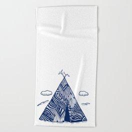 Teepee Beach Towel