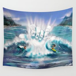 STOKED ! Wall Tapestry