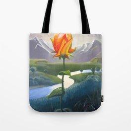Flower Lovers Tote Bag