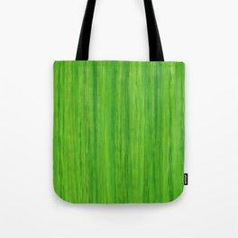 Green Melon Colored Vertical Stripes Tote Bag