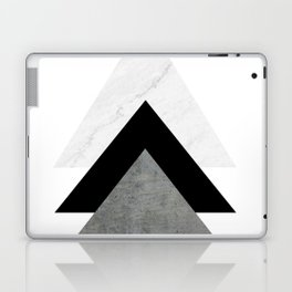 Arrows Monochrome Collage Laptop & iPad Skin