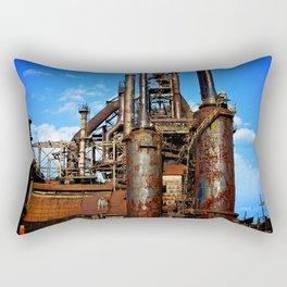 Bethlehem Steel Blast Furnace 1 Rectangular Pillow