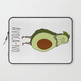 Avoca-no: Grumpy Avocado Laptop Sleeve