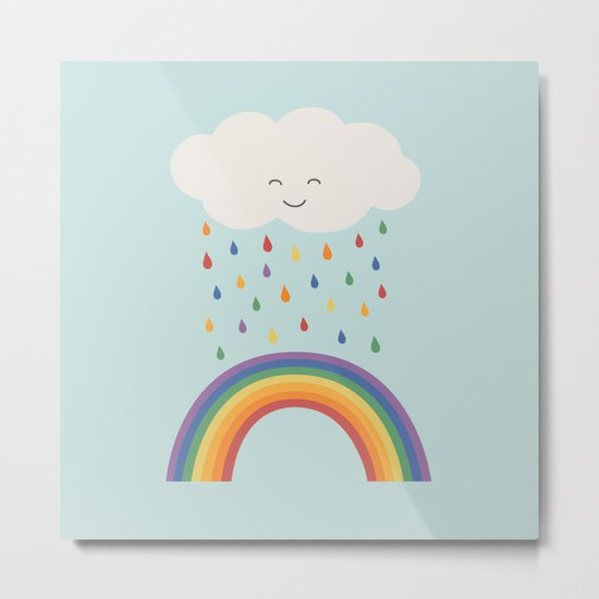 let's make rainbows Metal Print