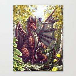 Mending the Dragon Canvas Print