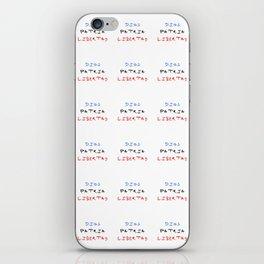 motto of the dominican republic – dios patria libertad iPhone Skin