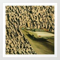 arrange -  plantation lp (backcover) Art Print