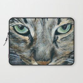 Brown Tabby Cat Laptop Sleeve
