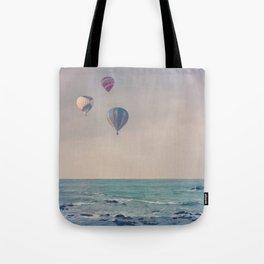 Balloons at Sea Tote Bag