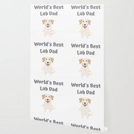 World's Best Lab Dad Cute Labrador Gift Idea Wallpaper