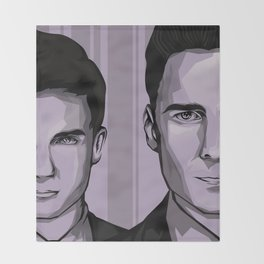 Ross and Harvey Throw Blanket