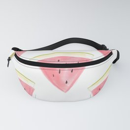 5 watermelon slices Fanny Pack