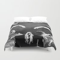 witchcraft Duvet Covers featuring Witchcraft by Merwizaur