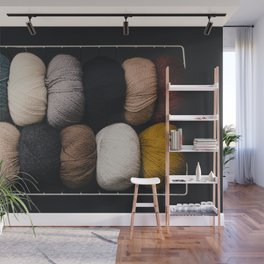 Warm Fuzzy Knits Wall Mural