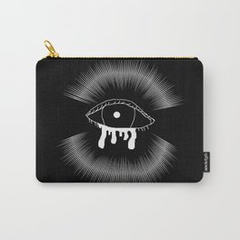 Creepy Bleeding Eye Carry-All Pouch